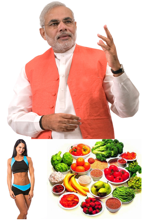 Desire For Looking Hot Raises Malnutrition Figures Says Gujarat CM Narendra Modi